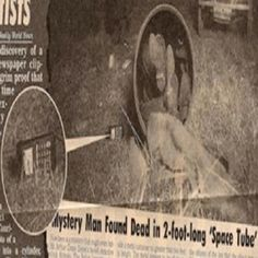ATRAVÉS DE UM JORNAL DE 1918, CIENTISTAS CONFIRMAM A MORTE DE UM VIAJANTE DO TEMPO - estampa a notícia acima! - Um homem misterioso encon...