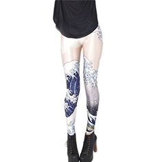 #Fashion     Product Description:         *Color:Shown as the pictures   *Material:Milk silk   *Size:One Size   *Item Type:Leggings   *Gender: #Women   *Style:Fas...