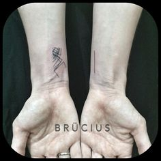 forearm geometric tattoos - Google Search
