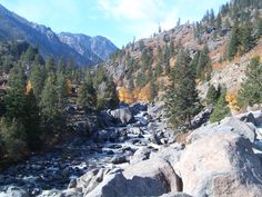 The Icicle River, Leavenworth, WA.