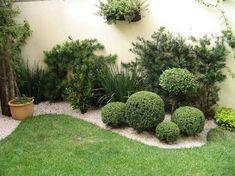Resultado de imagem para jardins de casas residenciais simples