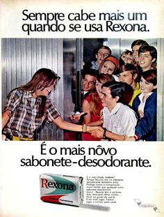 Sabonete Rexona, #Brasil #anos60 #retro