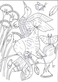 Ancient Egyptian Cats Coloring Book