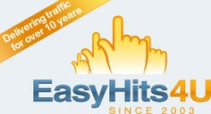 EasyHits4U.com - Your Traffic Exchange, 1:1 Exchange Ratio, Manual Surfing, Innovative Referral Program. FREE Traffic!