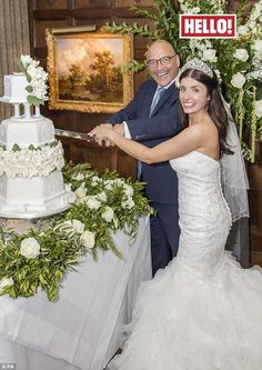 Fourth time lucky!MasterChef's Gregg Wallace insists that children are next on the list after tying the knot with his Anne-Marie Sterpini, pictured above on their big day earlier this month