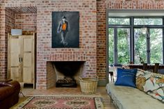 with Lanes klompies inside fire place - Brick Fire, Cape Town Tv Over Fireplace, Brick Fireplace, Brickwork, Cape Town, Beach House, House Plans, Fireplaces, Interior, Beautiful Things