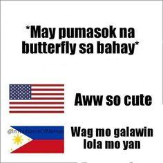 Also applies to moths - Memes Pinoy, Memes Tagalog, Pinoy Quotes, Tagalog Love Quotes, Tagalog Quotes Patama, Tagalog Quotes Hugot Funny, Filipino Funny, Filipino Quotes, Love Quotes For Her
