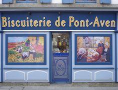 Bretagne - Biscuiterie de Pont-Aven, Finistère