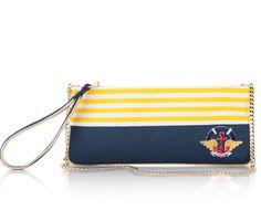 Bolso de mano para mujer Yellow Captain de Corina Lozano.