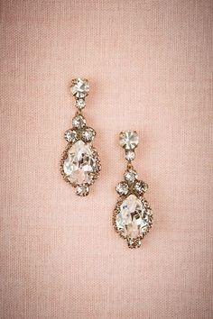 Drop Bridal Earrings || Lettice Drop Earrings