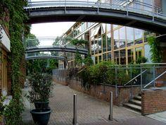 Street in BedZED - BedZED - Wikipedia, the free encyclopedia