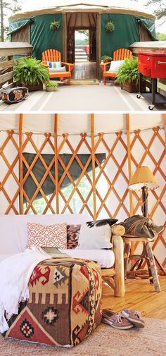 I want this in my yard and I want it now.   Camping Is Now More Glamorous And Comfortable Than Ever With The Right Accessories
