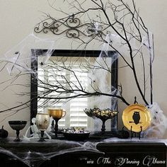 Halloween Tablescape Ideas - Halloween Party Decorations - Good Housekeeping