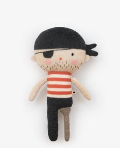 LAUVELY FRIEND № 9 - The Teeny Pirate 'One Eyed' Jack SHOP ONLINE www.lauvely.com