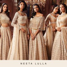 A will always be a timeless one! Indian Bridal Outfits, Pakistani Outfits, Neeta Lulla, Vogue India, Indian Gowns, Indian Couture, Traditional Fashion, Asian Fashion, India Fashion