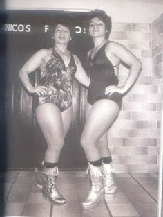Lucha Women: Irma Aguilar and Irma Gonzalez - Female Mexican Wrestlers