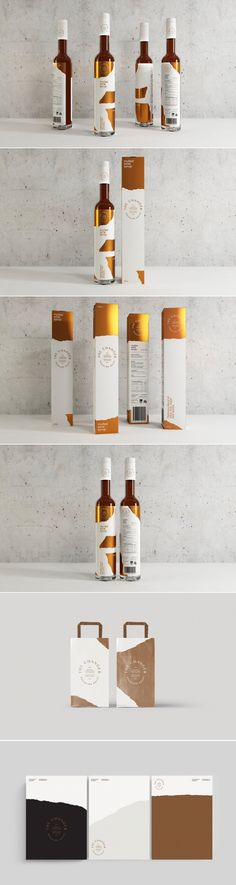 This Syrup Packaging is Flashy and Classy — The Dieline Packaging & Branding Design & Innovation News Honey Packaging, Beverage Packaging, Bottle Packaging, Bottle Mockup, Wine Label Design, Bottle Design, Luxury Packaging, Brand Packaging, Branding Design