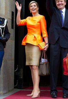 La Reina Maxima en un acto en La Haya