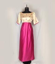 Vintage Prom Dress Evening Dress Bridesmaid by Nightofjoyvintage, $49.00
