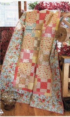 Bon Bons Quilt Pattern Pieced HH