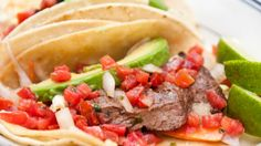 Give these lean, skirt steak, tacos a try!