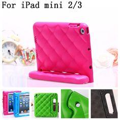 Shockproof Kids Handle EVA Rugged Proof Non-toxic Safe Foam Case Cover For Apple for iPad Mini 1 2 3,SKU 0135E