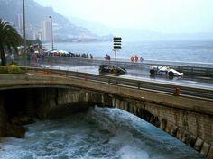 Monaco - Boulevard Louis II Bridge