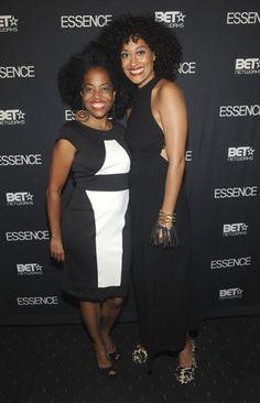 Rhonda Ross Kendrick & Tracee Ellis Ross. Miss Ross' two oldest grown daughters.