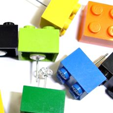 ... lego brick earrings lego brick earrings or you could glue push pins to