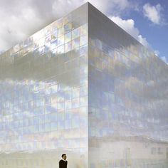 Music Hall and House in Algueña  by Spanish Architects Cor & Asociados.  #colorevolution