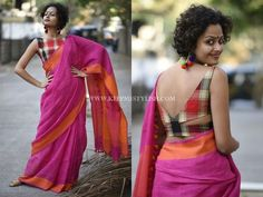 Simple Saree Blouse Designs For Daily Wear
