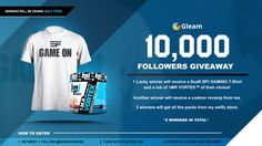 Win a Gaming T-Shirt Pre-Workout Powder and more 7/14 {ww} via... IFTTT reddit giveaways freebies contests