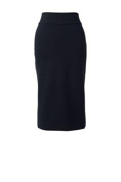 Women's Plus Size Ponte Pencil Skirt