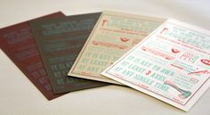 Guide to Being a Better Lumbersexual Vol. I, Versions I-IV #lumbersexual #design #letterpress