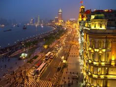 Bund BlueHour, Shanghai, China  | In #China? Try www.importedFun.com for award winning #kid's #science |