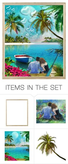 """""""Paradise Cove...by tt"""" by fowlerteetee ❤ liked on Polyvore featuring art"""