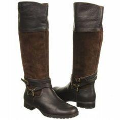 Ralph Lauren Sonya Riding Boots Leather & Suede