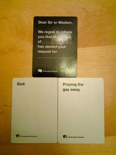 Awesome combo (cards against humanity)* Funniest Cards Against Humanity, Funny Pins, Funny Stuff, Random Stuff, Funny Cards, The Funny, Stupid Funny, Tumblr Funny, Funny Texts