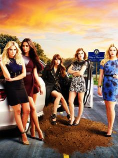 Die Girls von Pretty Little Liars sind in jeder Folge perfekt gestylt.