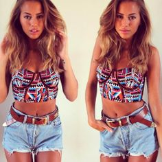 Festival Outfit Ideas by goodbadandfab | Pose