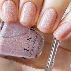 #AcrylicNailsNatural Simple Wedding Nails, Wedding Nails Design, Nail Polish Designs, Nail Polish Colors, Cute Nails, Pretty Nails, Natural Looking Nails, Wedding Nail Polish, Gel Nails At Home