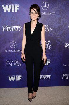 Michelle Dockery Pumps - Michelle Dockery Looks - StyleBistro