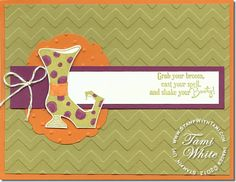 Stampin' Up! Bootiful Occasions Card