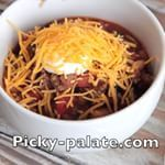 Add my Perfect Weeknight Chili to your menu this week  Love this simple dinner during Winter months Pickypalate instagood yum yummy nomnom nomnomnom forkyeah foodlove todayfood fgrams spoonfeed dailyfoodfeed buzzfeast buzzfeastfood feedfeed chili recipe