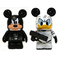 Darth Vader Goofy and Stormtrooper Donald