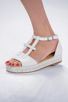 shoes @ Carolina Herrera Spring 2015