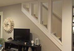 Open Staircase around studs