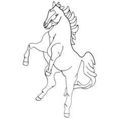 This unique Black Metal Horse Outline Wall Decor features a beautiful horse outline in black metal. Reared back and ready to run, this horse would make the perfect complement to Western or cowboy-themed home