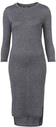 Topshop 3/4 Sleeve Midi Dress on shopstyle.ca