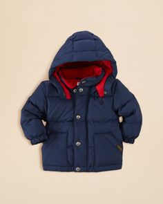Ralph Lauren Infant Boys' Matte Elmwood Jacket - Sizes 6-24 Months